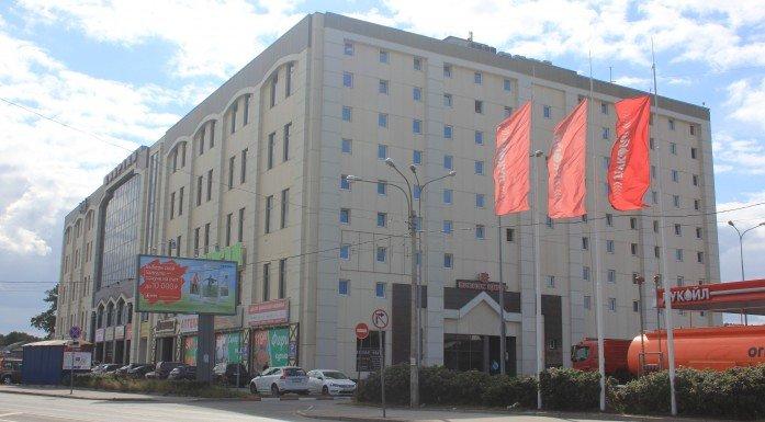 внешний вид здания на Новорыбинской