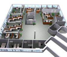 Разграничение офиса на функциональные зоны