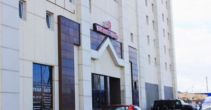 вид здания на Новорыбинской
